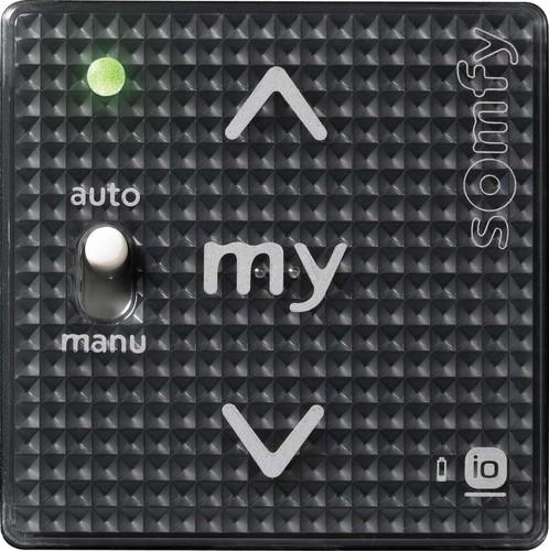 Somfy Funkwandsender A/M IN io 1-Kanal Black Shine 1811102