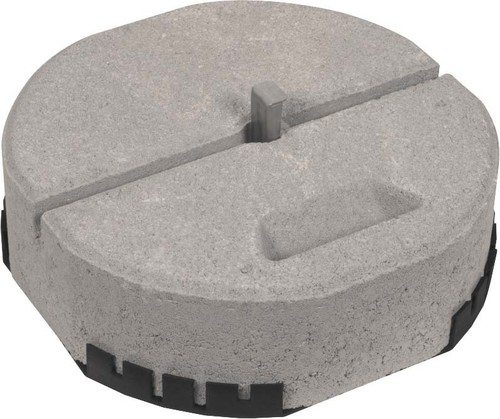 DEHN Betonsockel Set C45/55 17kg D337mm BES17KGKT16ULPD337SE