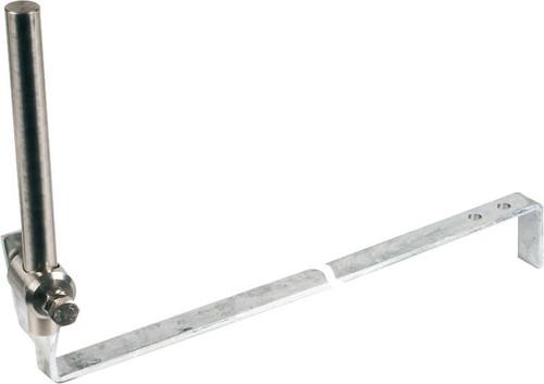 DEHN Stangenhalter m.Strebe L 475mm St/tZn SHBB16L475WSV2ASTTZN