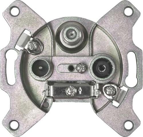 Astro Strobel Antennensteckdose 3-Loch Durchgangsdo. GUT 312