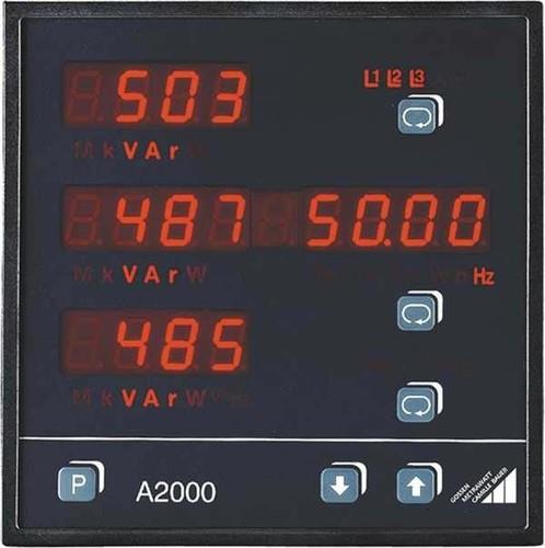 Gossen Metrawatt Multi-Leistungsmessgerät 230/115V AC A2000-V002