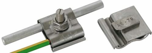 DEHN Uni-Erdungsklemme M8 Rd8-10mm+4-50qmm 540 250