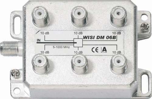 Wisi Verteiler 6f. 5-1000MHz, 10dB DM06B