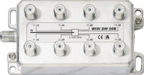 Wisi Verteiler 8f. 5-1000MHz, 11dB DM08B