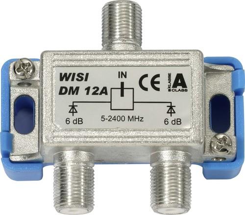 Wisi Verteiler 2-fach 5-2400MHz, 6dB DM12A