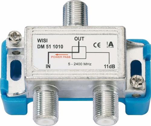 Wisi Abzweiger 1-fach 5-2400MHz, 10dB DM51 1010