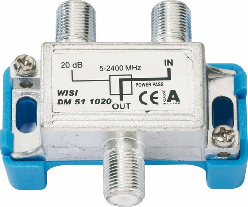 Wisi Abzweiger 1-fach 5-2400MHz, 20dB DM51 1020
