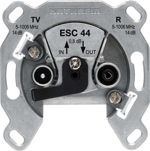 Kathrein Breitband-Richtkopplerdose 2-fach Durchschleifdose ESC 44