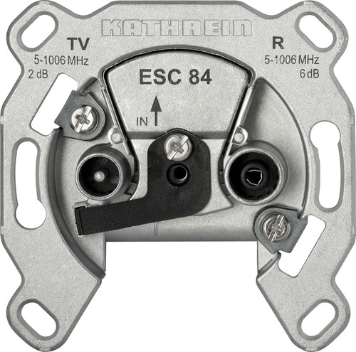Kathrein Breitband-Einzeldose 2-fach ESC 84