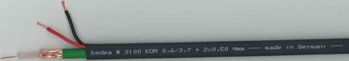 bda connectivity Video Kombi-Kabel KOM 0,6/3,7+2x0,75