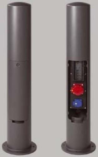 Leipziger Leuchten Elektroversorgungspoller 1xSCHUKO 230V/16A 9.946.0993.101SC16