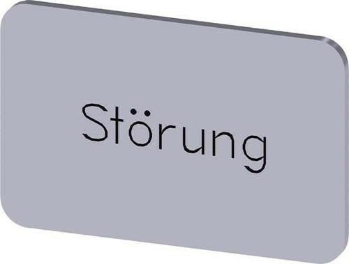 Siemens Indus.Sector Bezeichnungsschild Störung 3SU1900-0AD81-0AQ0