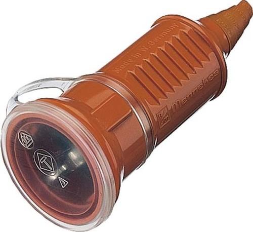 Mennekes Schuko-Kupplung 16A,2p+E,230V,IP44or 10842