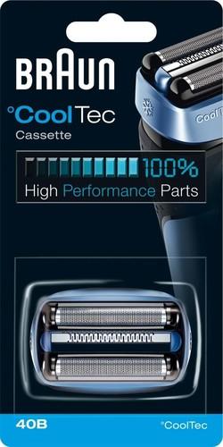 Procter&Gamble Braun Scherkopfkassette f.CoolTec Kombipack 40B bl/sw