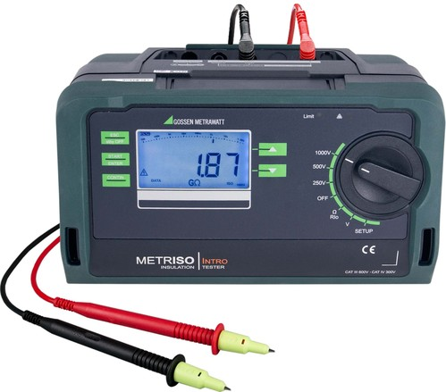 Gossen Metrawatt Isolations-Messgerät Intro METRISO M550N