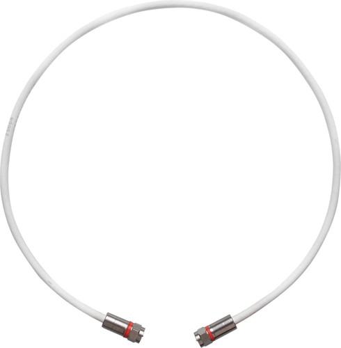 Wisi Patchkabel 45cm mit Stecker DV 10 N BK76 0045