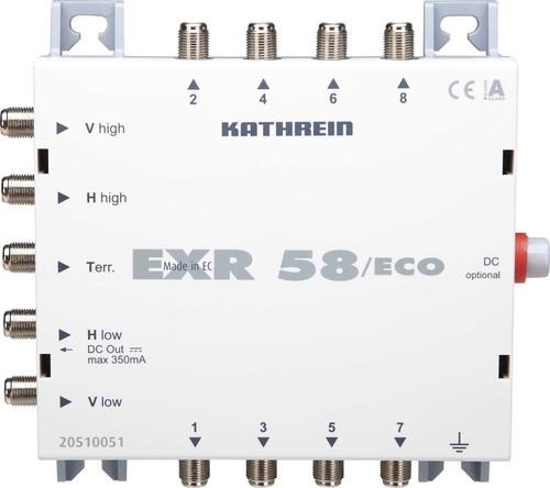 Kathrein Multischalter 4 Sat-Ebenen,terre. EXR 58/ECO