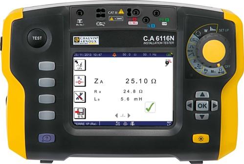 Chauvin Arnoux Installationstester C.A 6116N