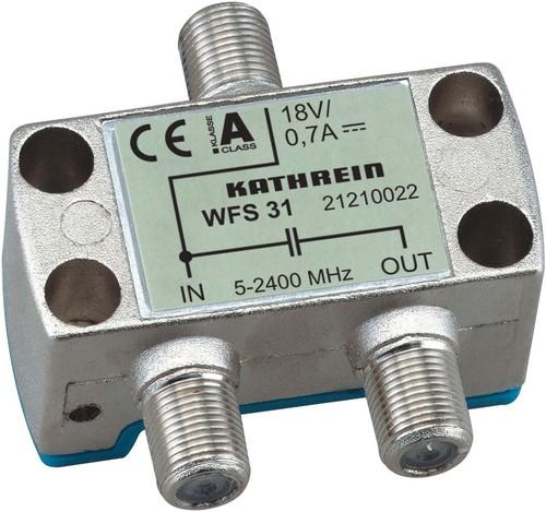 Kathrein Fernspeise-Weiche 5-2400MHz F-Conect. WFS 31
