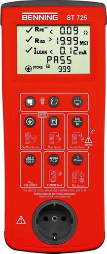 Benning Gerätetester Batterie-u.Netzbetr. BENNING ST 725