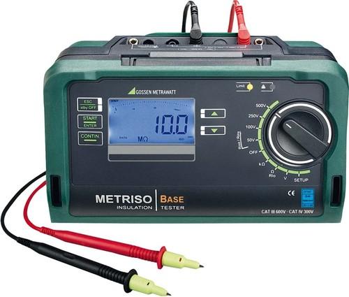 Gossen Metrawatt Isolationsmessgerät bis 500V METRISO BASE