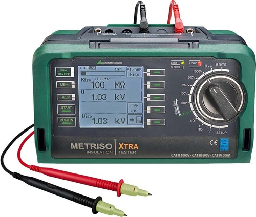 Gossen Metrawatt Isolationsmessgerät METRISO XTRA