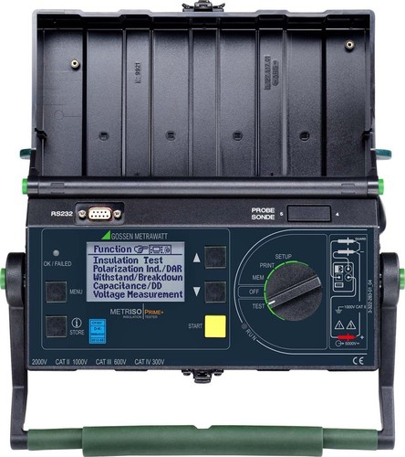 Gossen Metrawatt Hochsp.Iso.-Messg.-Set Digital, Batterie METRISO PRIME+ Bat