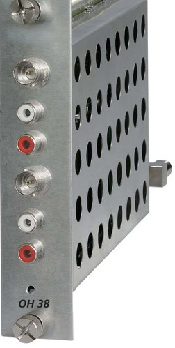 Wisi Twin AV-Modulator A/V-Signal in PAL OH38