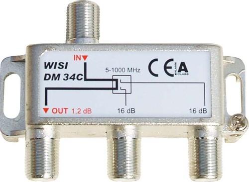 Wisi Abzweiger 2-fach 5-1000MHz 16dB DM34C