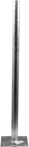 Televes Standfuß L=1,0m Platte 200x200mm DH100N