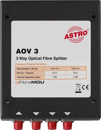 Astro Strobel Splitter 3-fach, optisch AOV 3