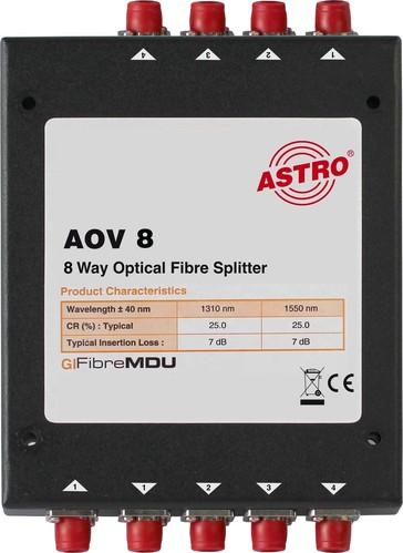 Astro Strobel Splitter 8-fach, optisch AOV 8