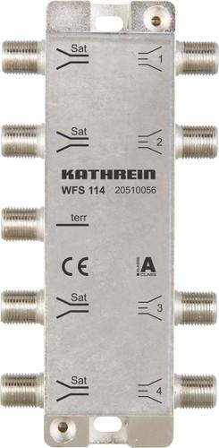 Kathrein Einschleusweiche 1xterr. 4xSat-ZF WFS 114