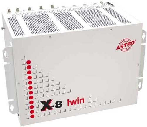 Astro Strobel SAT-Aufbereitung Komplettgerät X-8TWIN+4 x X-QAM642