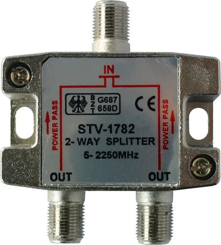Kreiling Tech. Verteiler 2-fach ch 5-2250MHz Class A STV1782