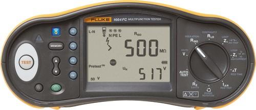 Fluke Installationstester mit ISO Vorabprüfung FLK-1664FC DE