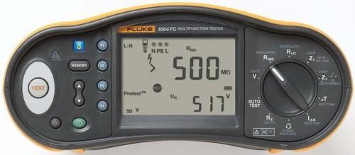 Fluke Installationstester mit ISO Vorabprüfung Fluke 1664FC DMS DE