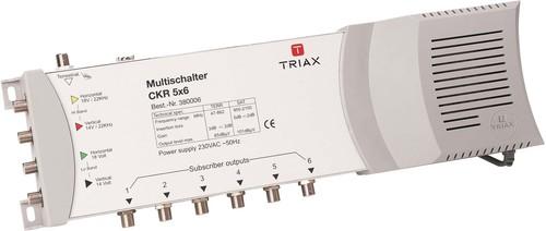 Triax Hirschmann Multischalter 4SAT+1terr.Eing.6f. CKR 5061
