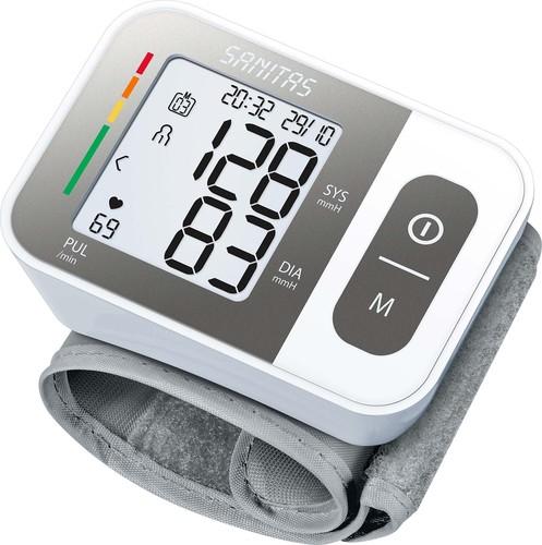 Sanitas SAN Blutdruckmessgerät Handgelenkmessung SBC 15 weiß