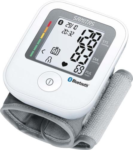 Sanitas SAN BT Blutdruckmessgerät Handgelenkmessung SBC 53 weiß