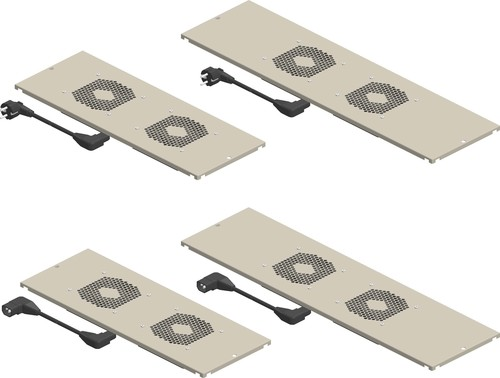 Enoc Dachmodulblech-Lüfterpaket Slave m.Therm.800mm FPS 8 X1