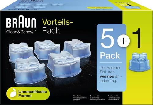 Procter&Gamble Braun Reinigungskartusche Rasierer-Zubehör CCR 5+1