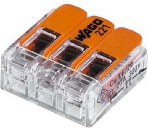 Barthelme Verbindungsklemme 3-polig kompakt 65000013