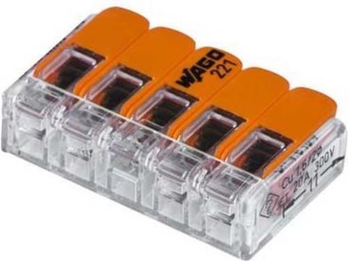 Barthelme Verbindungsklemme 5-polig kompakt 65000015
