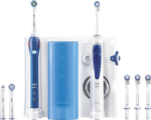 Procter&Gamble Braun Oral-B Center Zahnb+Munddusche CenterOxyJet+PRO2