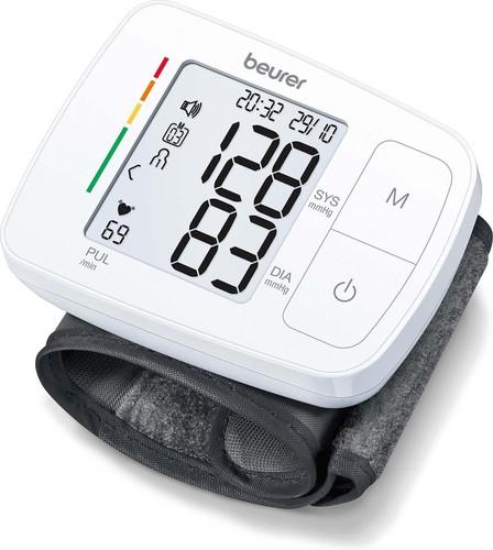 Beurer Blutdruckmessgerät Sprache Handgelenkmessung BC 21 DE/EN/FR/IT/TR