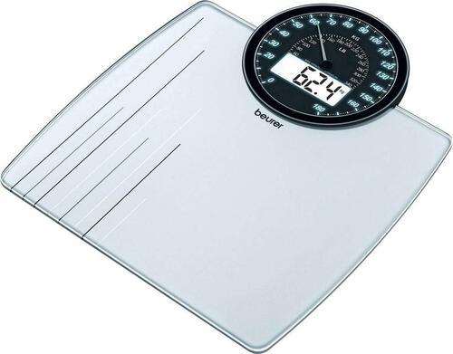 Beurer Glaswaage 100gEinteilung,180kg GS 58
