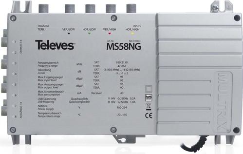 Televes Multischalter mit Netzteil MS58NG