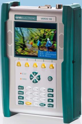 KWS Electr. Kombi-Antennenmessgerät 5¿1214/910¿2150MHz VAROS 106