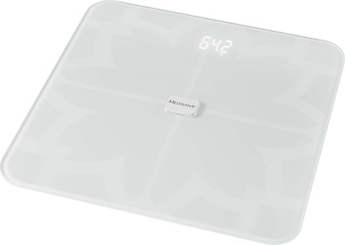 Medisana Körperanalysewaage Bluetooth,App BS 450 Connect weiß